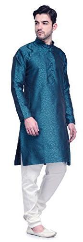 Jacquard Silk Wear Kurta
