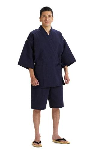 jinbei cotton crepe wovenimportjapanese navy