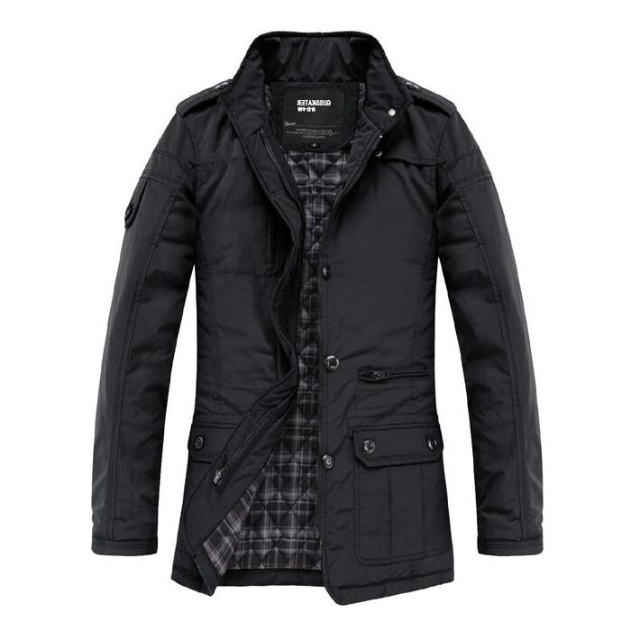 Slim Clothes Winter Overcoat Casual Outerwear Warm