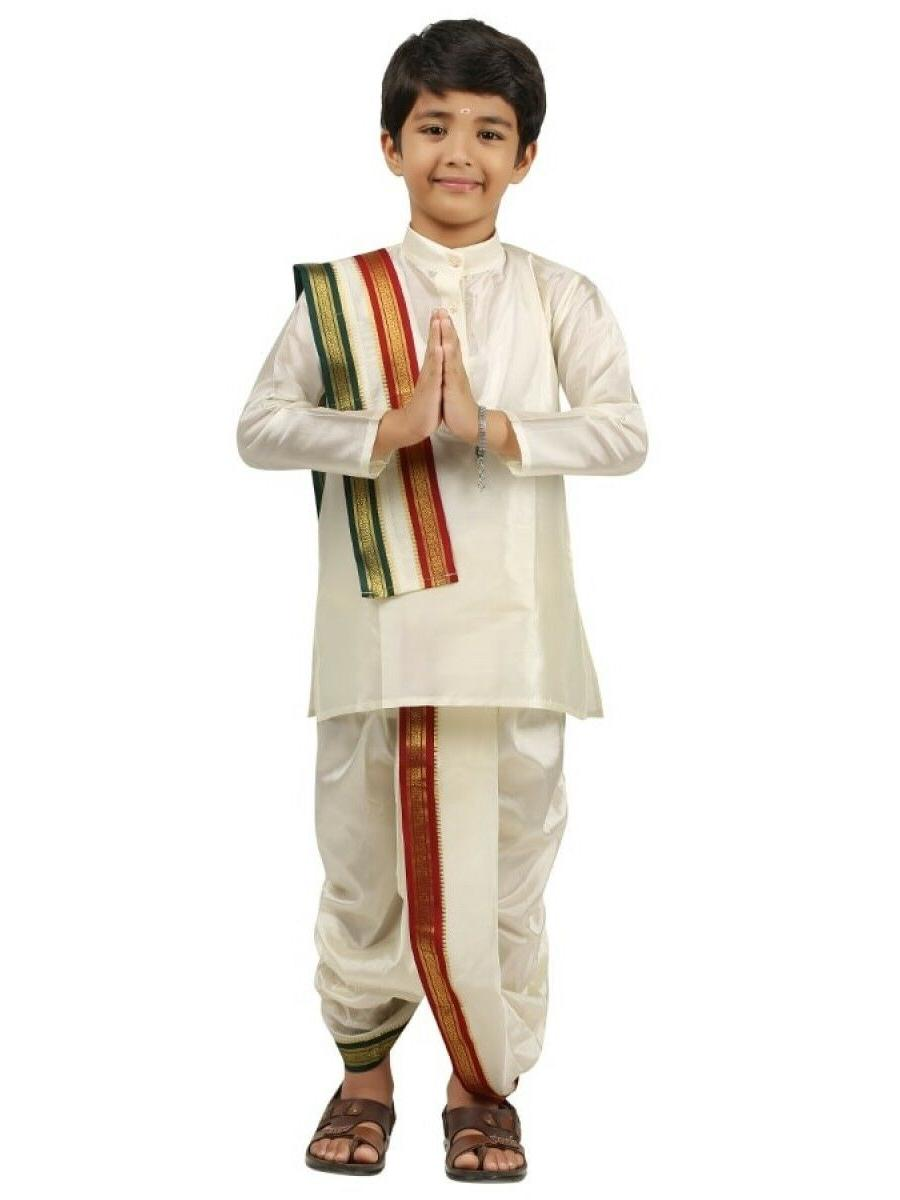 kids boys kurta dhoti set indian ethnic