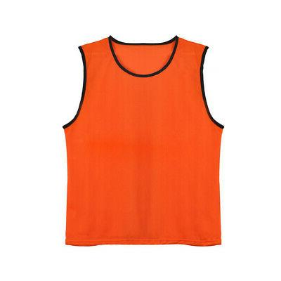 TopTie Kids Mesh Team Vest Basketball Jersey