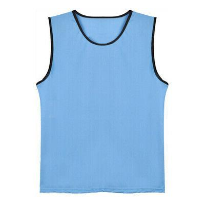 kids mesh scrimmage team training practice vest