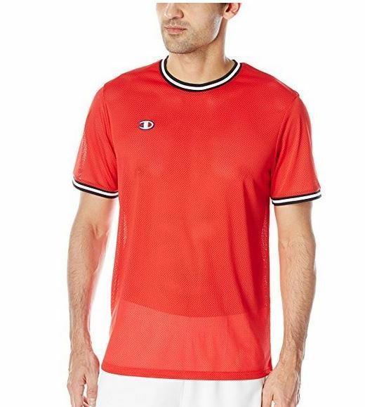 life men s mesh tee shirt team