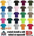 Lot 6 Pack Alstyle Apparel AAA T Shirt 1301 Mens Plain basic