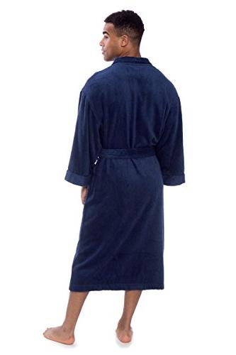 Men's Luxury Cloth Bathrobe - Robe Texere MB0101-MDV-LXL