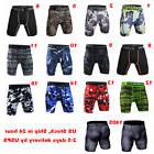 Male Sports Apparel Skin Tights Compression Base Men Gym Sho