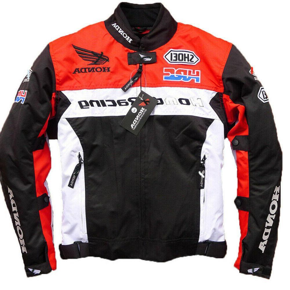 man for honda cbr mesh racing jacket
