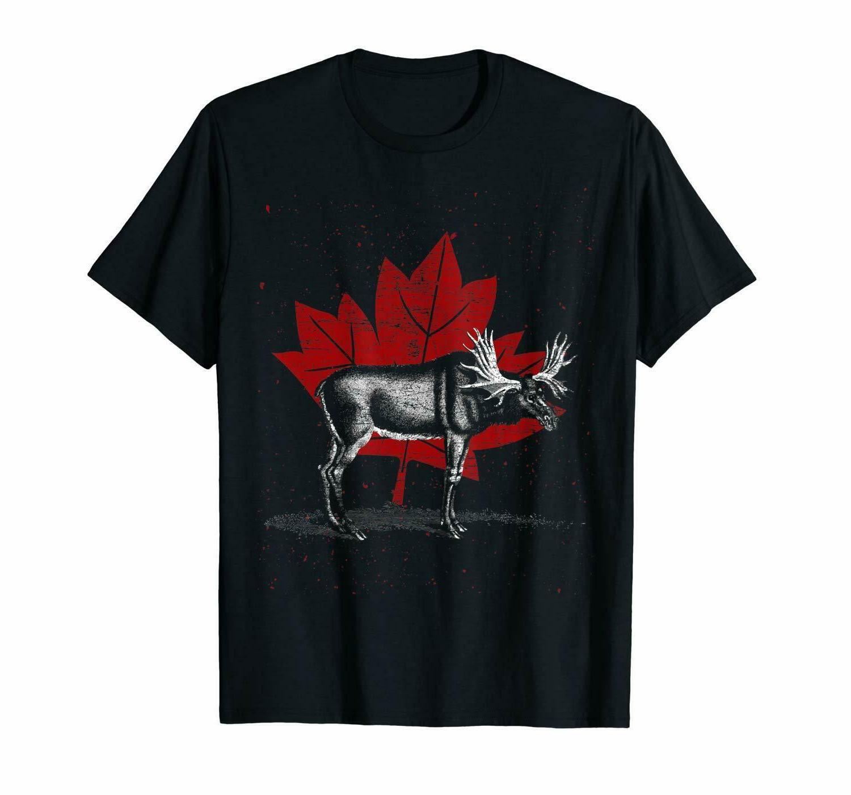 maple leaf canada t shirts tee size