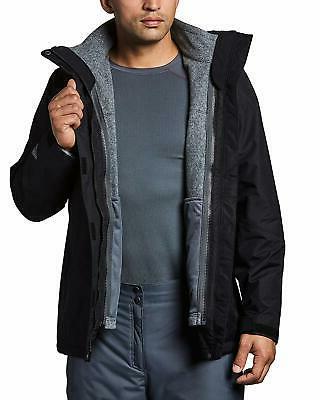 Columbia Men's II Fleece Interchange Jacket, and