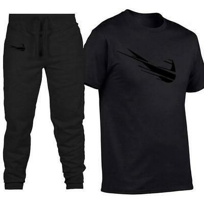 Men Black street fashion brand clothing