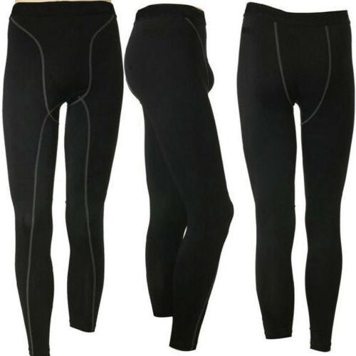Men Thermal Underwear Set Long Tight Pants