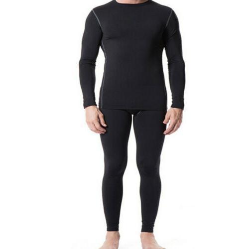 Men Compression Thermal Long Pants
