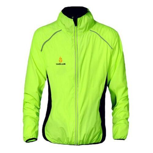 Men Sleeves Jersey Outdoor Sports Reflective Running