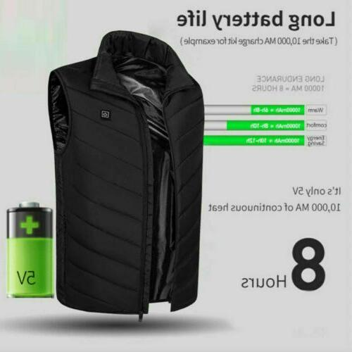 Men Vest Up Pad Body Warmer
