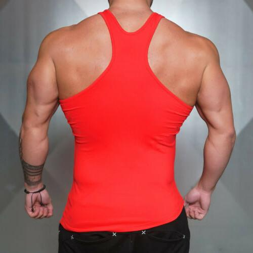 Men Style Gym Quick clothes Training Workout Singlets