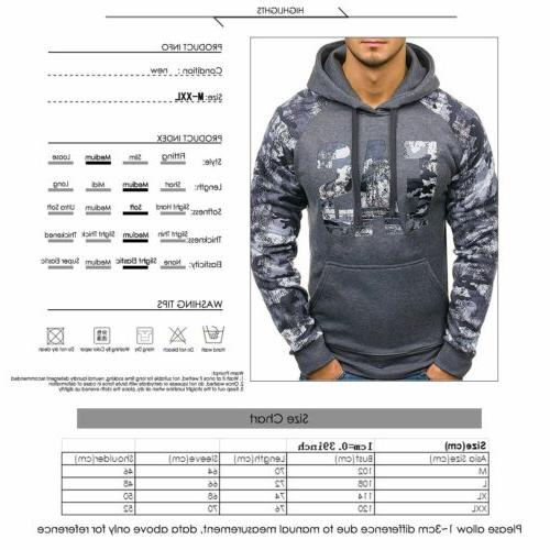 Men Hooides Clothes Autumn Sweatshirts Hip Hop