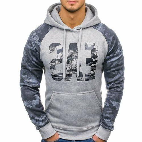 Men Hooides Clothes Winter Hip Hop