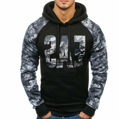 Men Hooides Clothes Autumn Winter Sweatshirts Hip