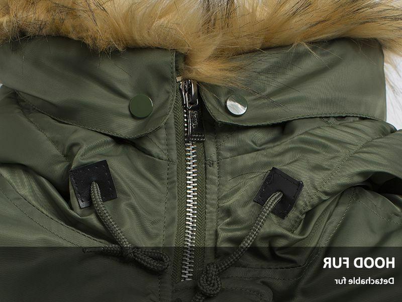 Men Jacket Warmer Winter Collar Clothes
