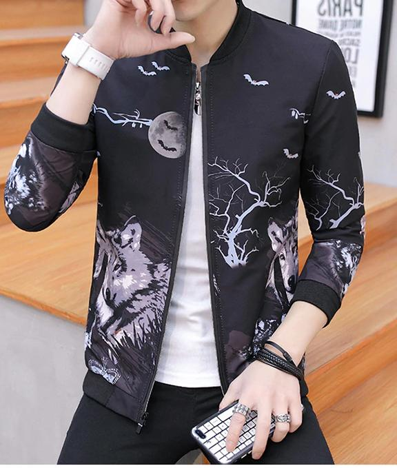 Men Casual Spring Autumn Coat Slim