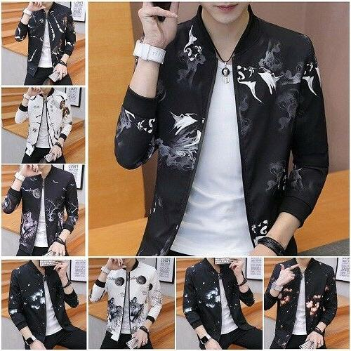 men jackets mens spring autumn trend handsome