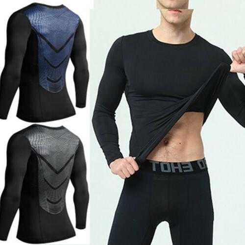 Men Compression T-Shirt Under Thermal