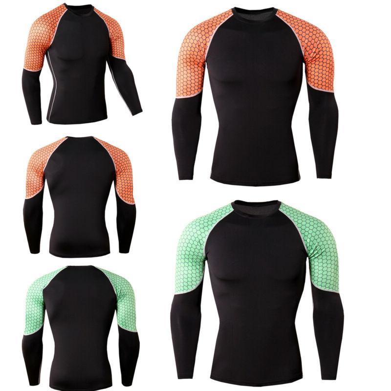 Men Long Compression T-Shirt