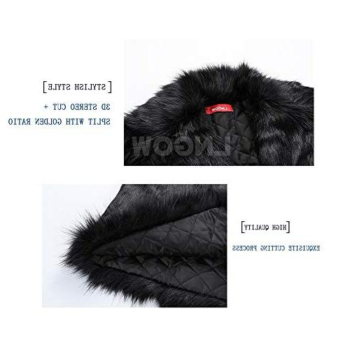 LNGOW Fur Warm Soft Outerwear