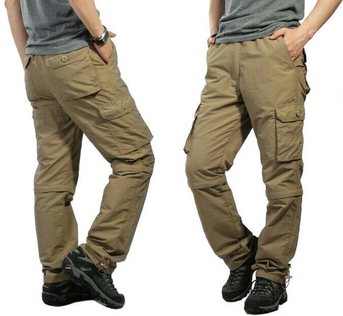 TACVASEN Zip Dri-FIT Summer Cargo Pants