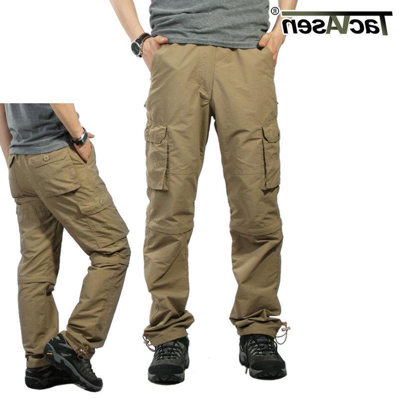 mens quick dry zip off pants shorts