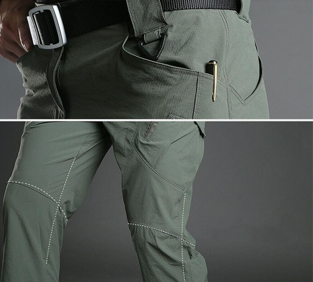 TACVASEN Men Quick IX9 Tactical Pants Safari Trousers Workout Army Pants