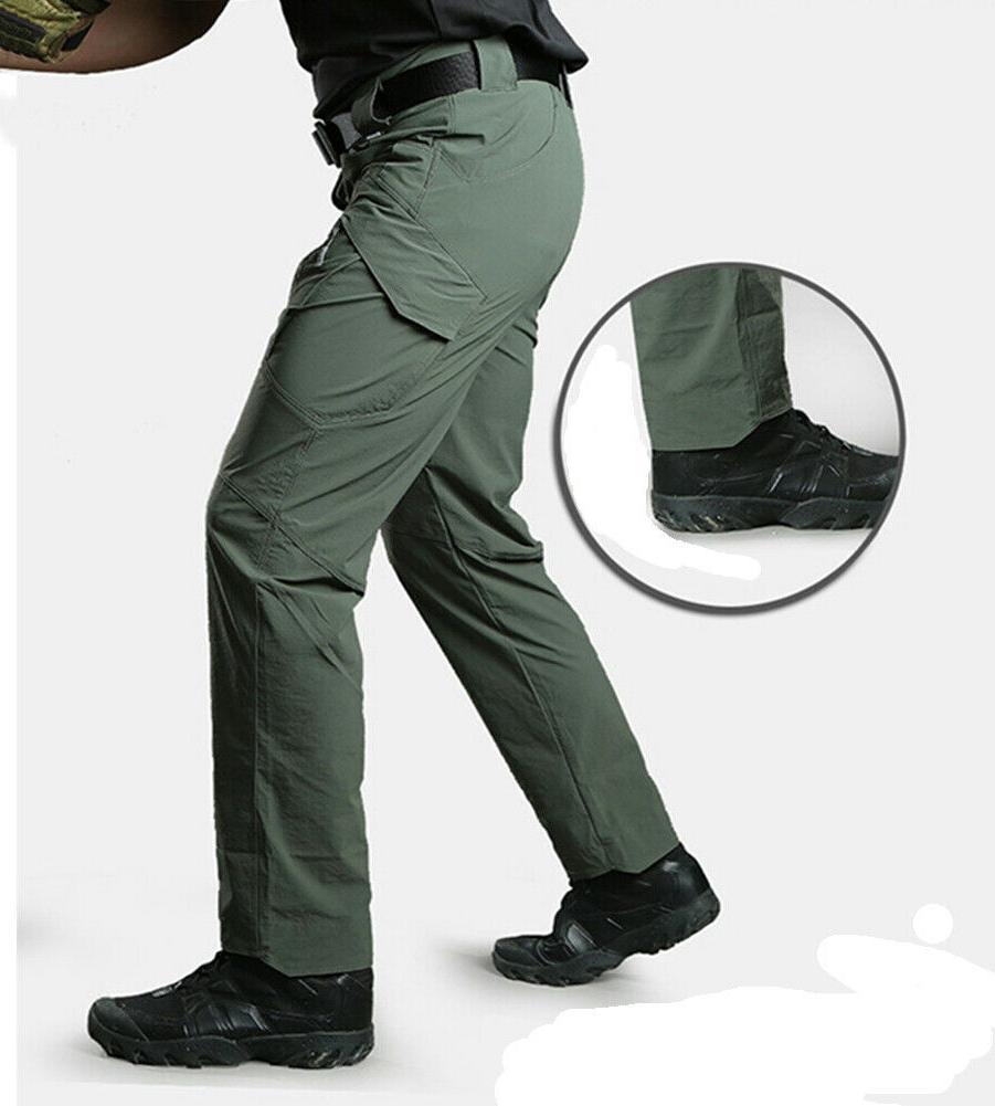 TACVASEN Quick Dry IX9 Trousers Army UTP Pants