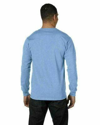 Hanes Men's Long Sleeve Tee Shirt 5186