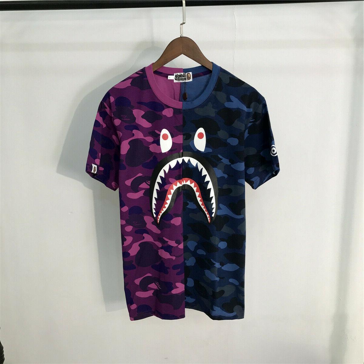 T-shirt Shark tee