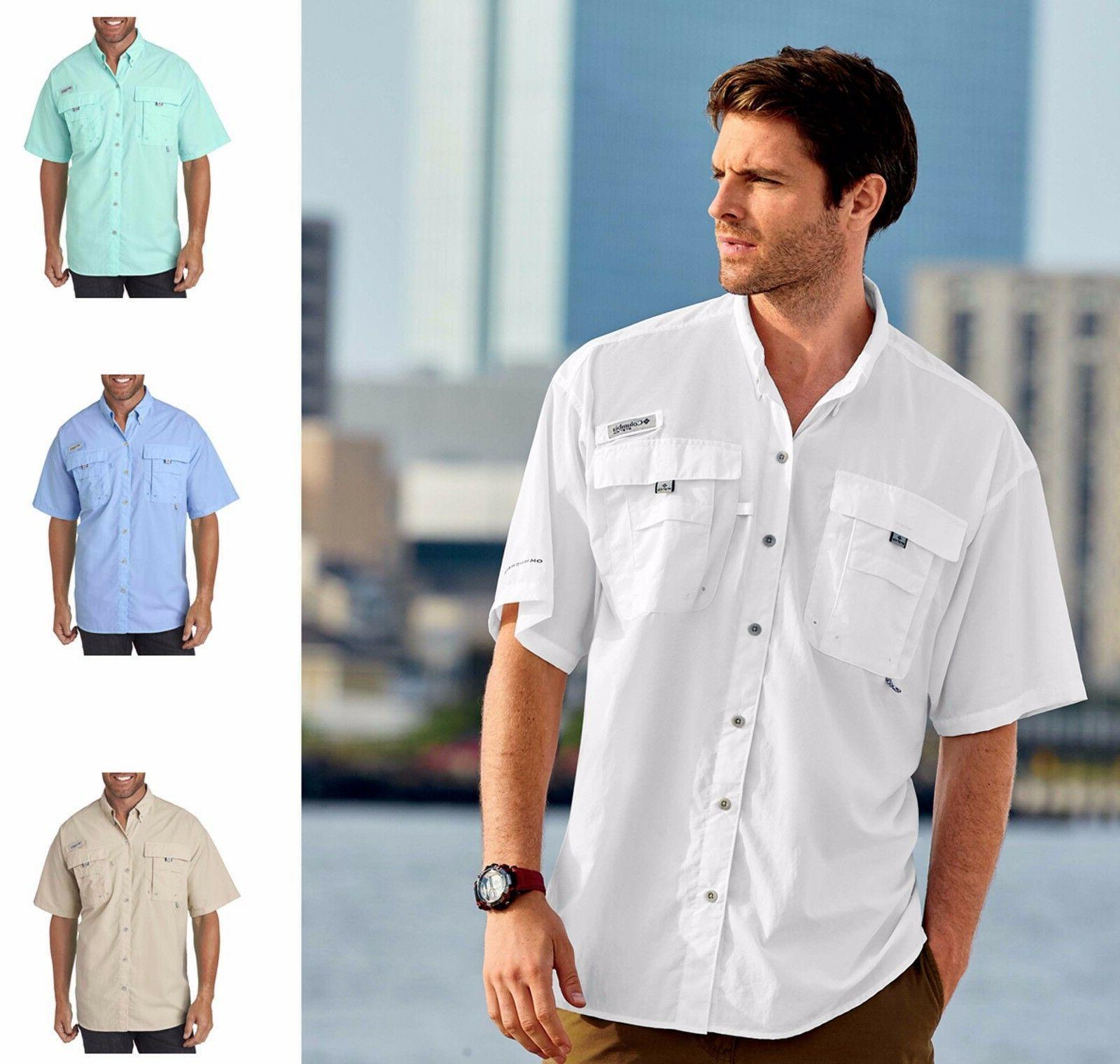 men s bahama ii pfg short sleeve