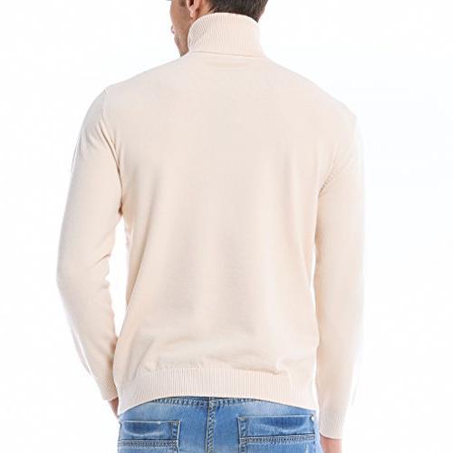 Just Basic Turtleneck Solid Sweater