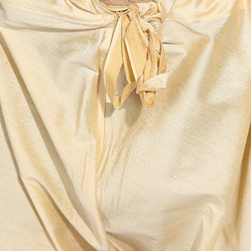 KISAH Silk Design Waistcoat Kurta Churidar