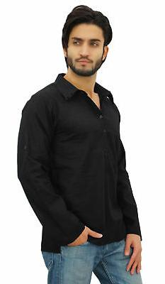 Atasi Kurta Roll-Over Collar Ethnic Indian