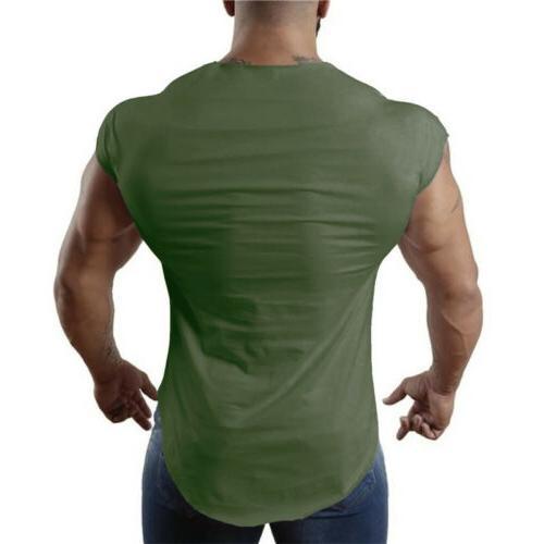 Men'S Bodybuilding Fitness Tank Clothes