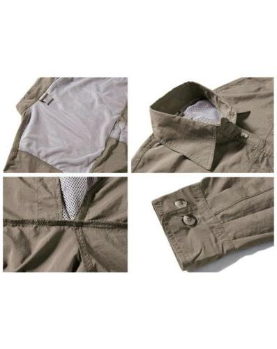 TACVASEN Breathable Dry Long Sleeve Shirt,