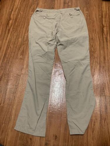 Clothing Pants Nylon P^cubed Pocket Proof Size x 34