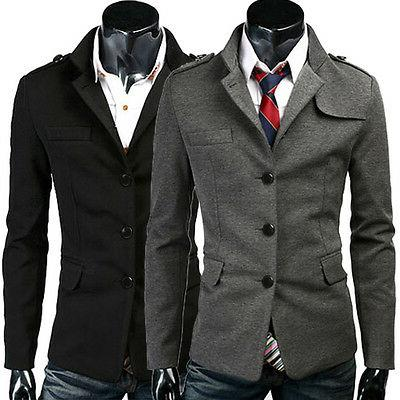 men s casual stylish jacket coat winter
