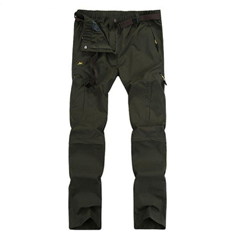 Men's Convertible Pants Quick-dry Hiking Cargo