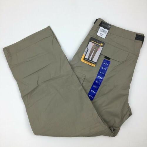 Men's Clothing Convertible Stretch Active Pants Shorts