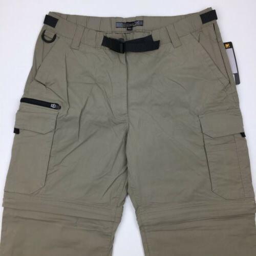 Men's BC Clothing Convertible Stretch Active Pants Shorts