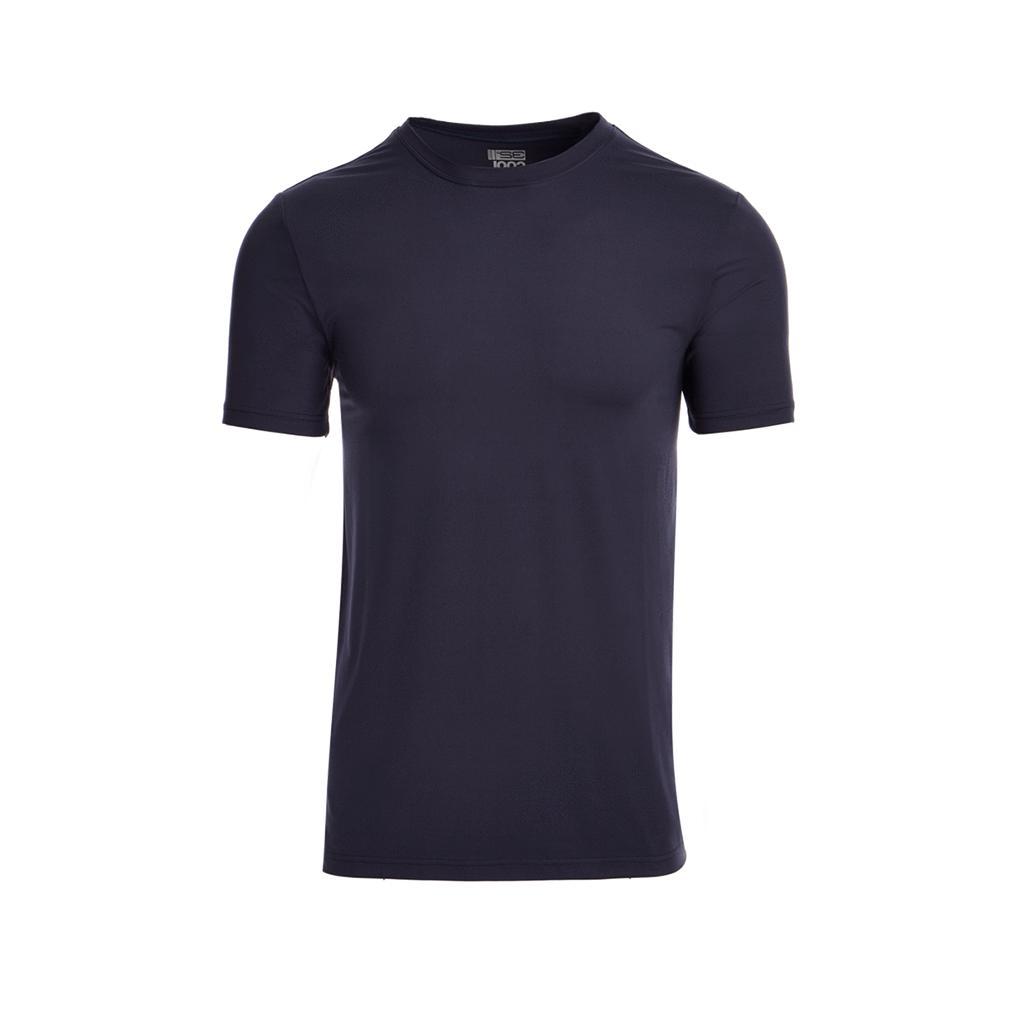 Men's Cool S/S Quick Dry Neck Colors, SZ