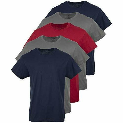 men s crew t shirts assorted number