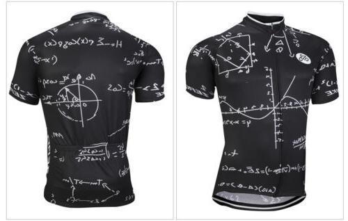 Men's Bike Sleeve Sports Jersey & Shorts