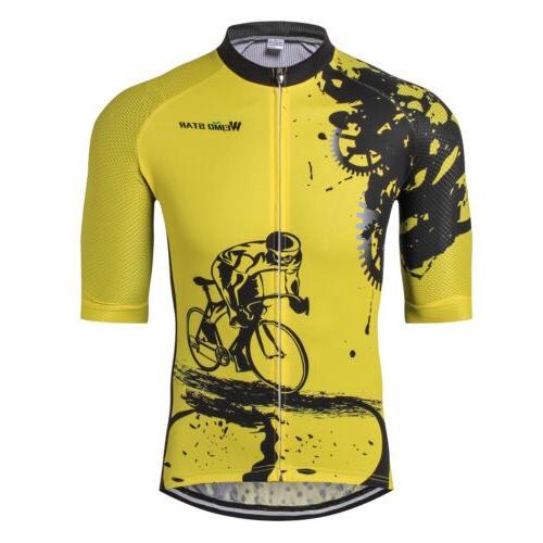 Men's Weimostar Bike Jersey Tops MTB Bicycle