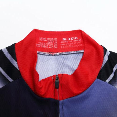 Men's Cycling Bicycle Cycle Shirt Jerseys Tops